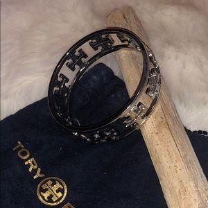 Tory Burch Silver Chunky Bracelet